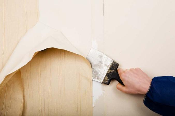 remover papel tapiz